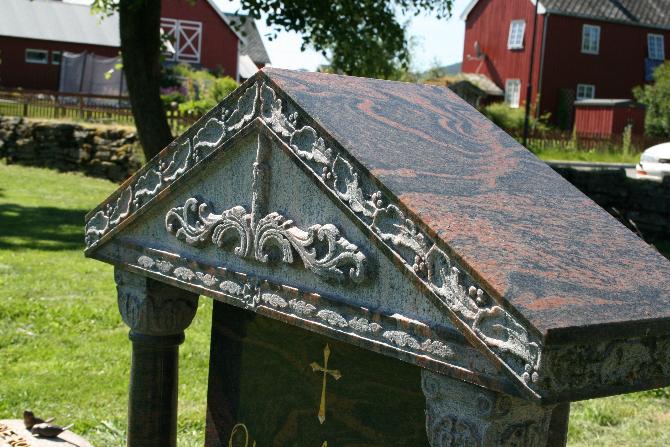 1 1 Orkdal Skrift- og Steinhuggeri